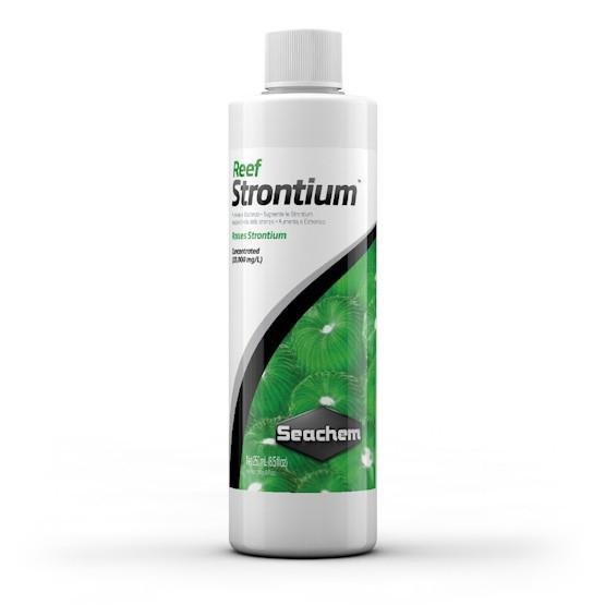Seachem Reef Strontium™ 250mL  - Aquário Estilos