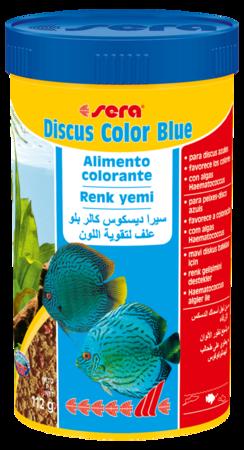 SERA Discus Color Blue 116g  - Aquário Estilos