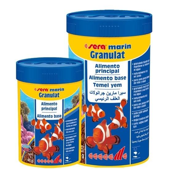 SERA Marin Granulat 450g  - Aquário Estilos