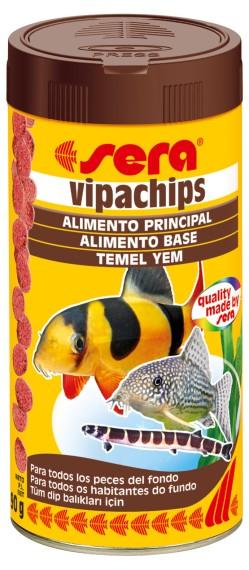 SERA Vipachips Sachê 15g  - Aquário Estilos