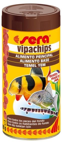 SERA Vipachips Pote 37g  - Aquário Estilos
