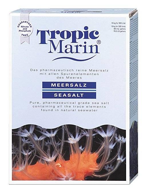 Tropic Marin® Sal Marinho CLASSIC 1,24kg / Faz 37 litros  - Aquário Estilos