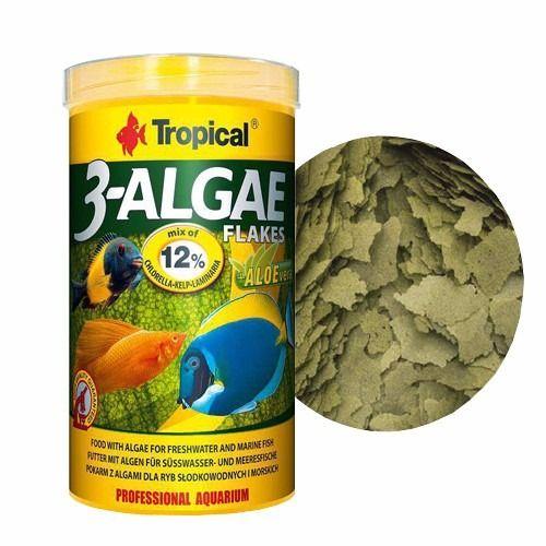 TROPICAL Algae Flakes 50g  - Aquário Estilos