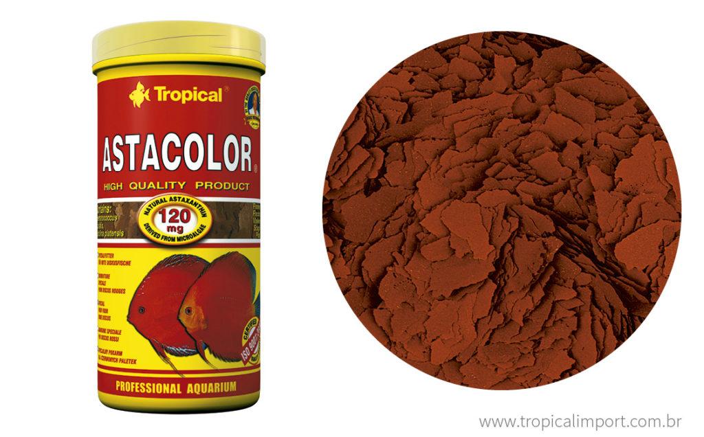 Tropical Astacolor 20g  - Aquário Estilos