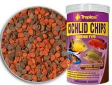 Tropical Cichlid Chips 130g  - Aquário Estilos