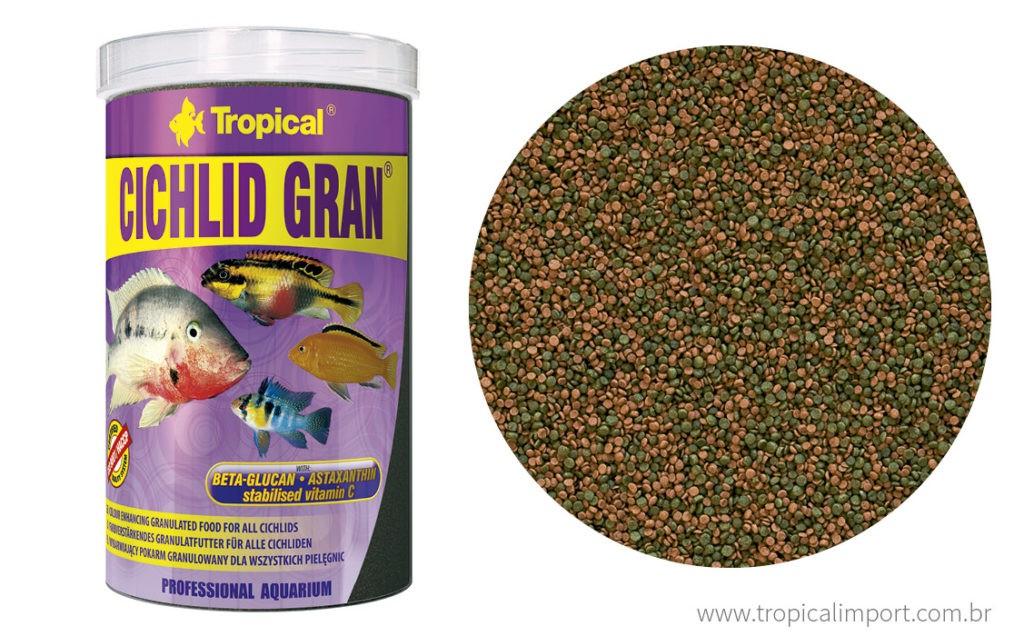 Tropical Cichlid Gran 550g  - Aquário Estilos