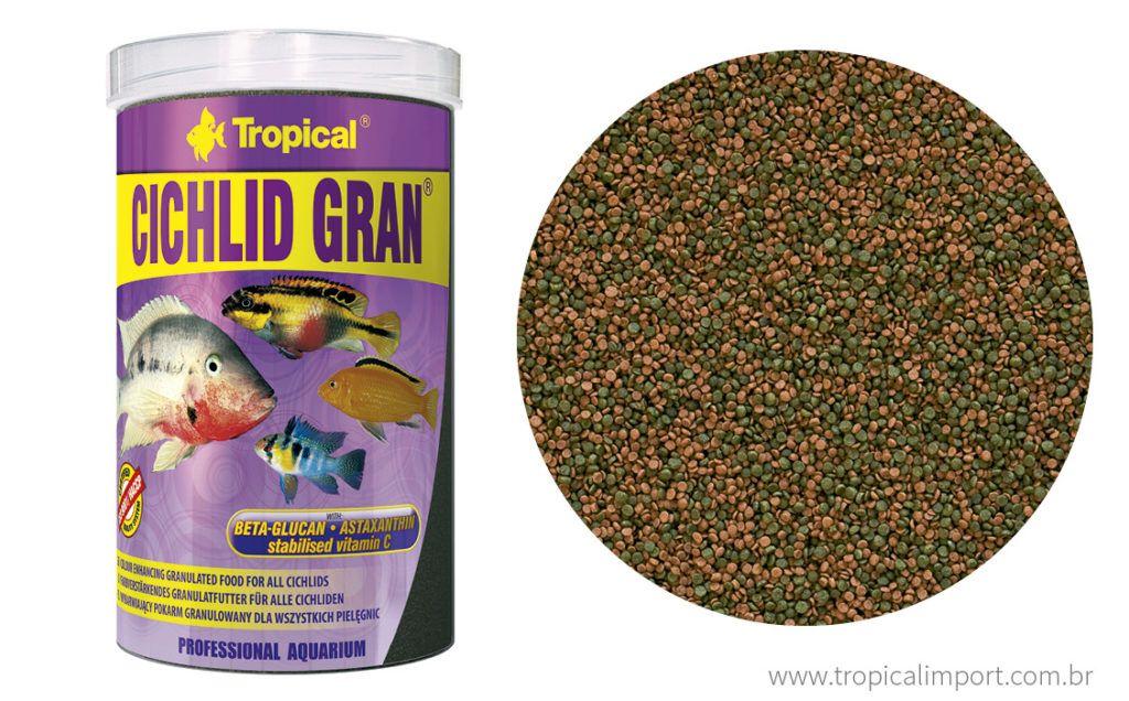Tropical Cichlid Gran 55g  - Aquário Estilos