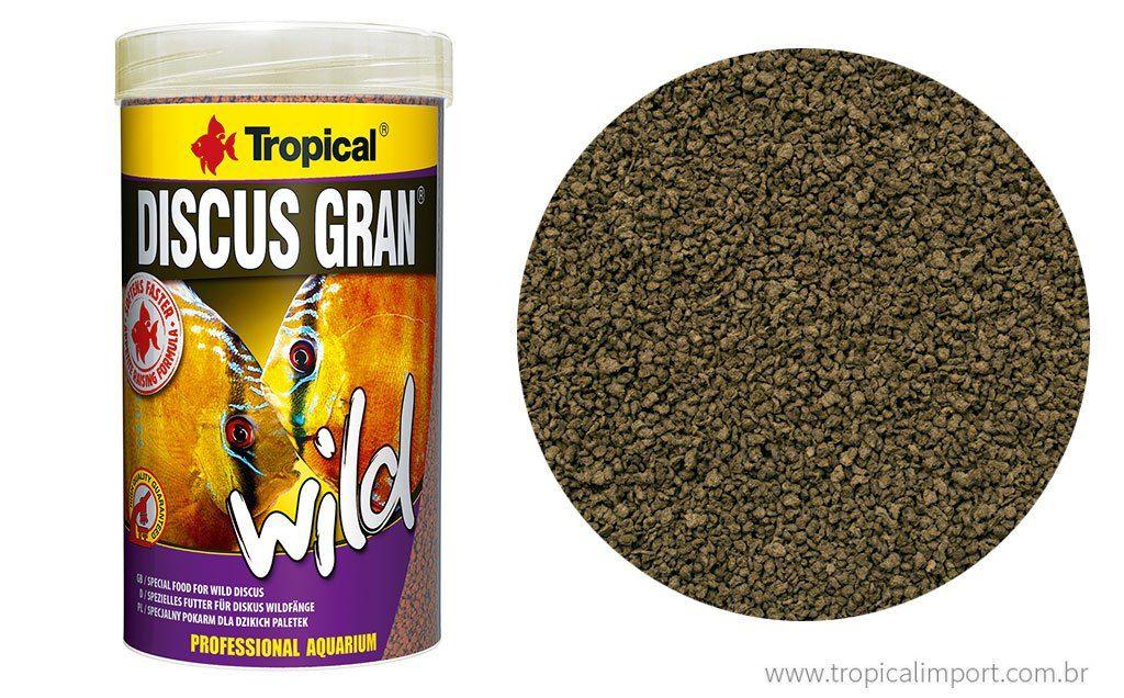 Tropical Discus Gran Wild 110g  - Aquário Estilos
