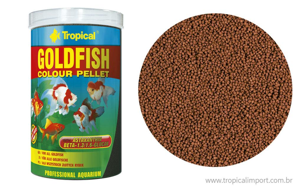 Tropical Goldfish Colour Pellet  - Aquário Estilos