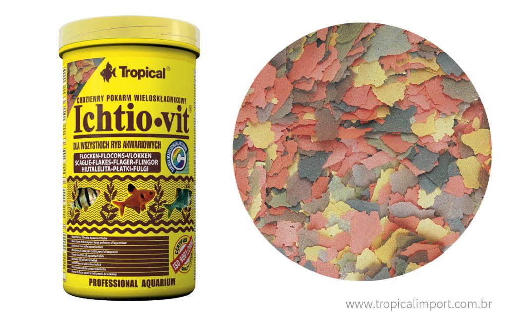 Tropical Ichtio-vit 20g  - Aquário Estilos