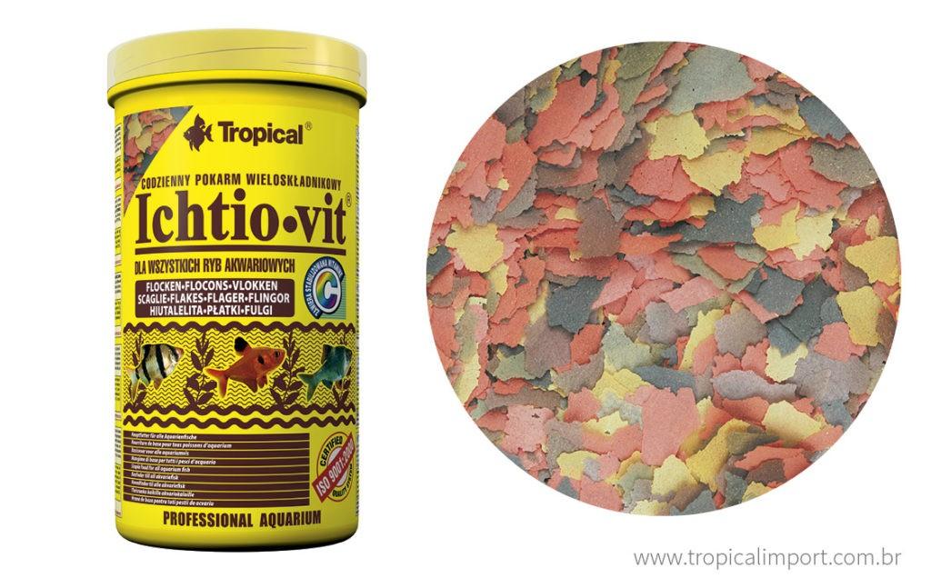 Tropical Ichtio-vit Pote 50g  - Aquário Estilos