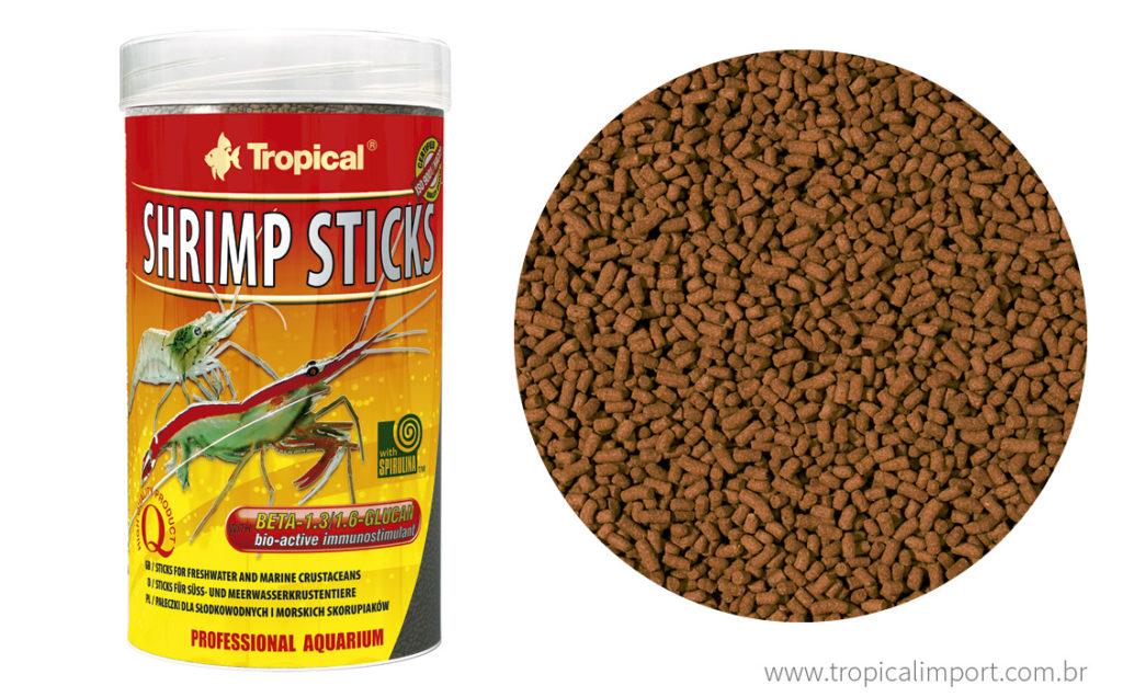 Tropical Shrimp Sticks  - Aquário Estilos