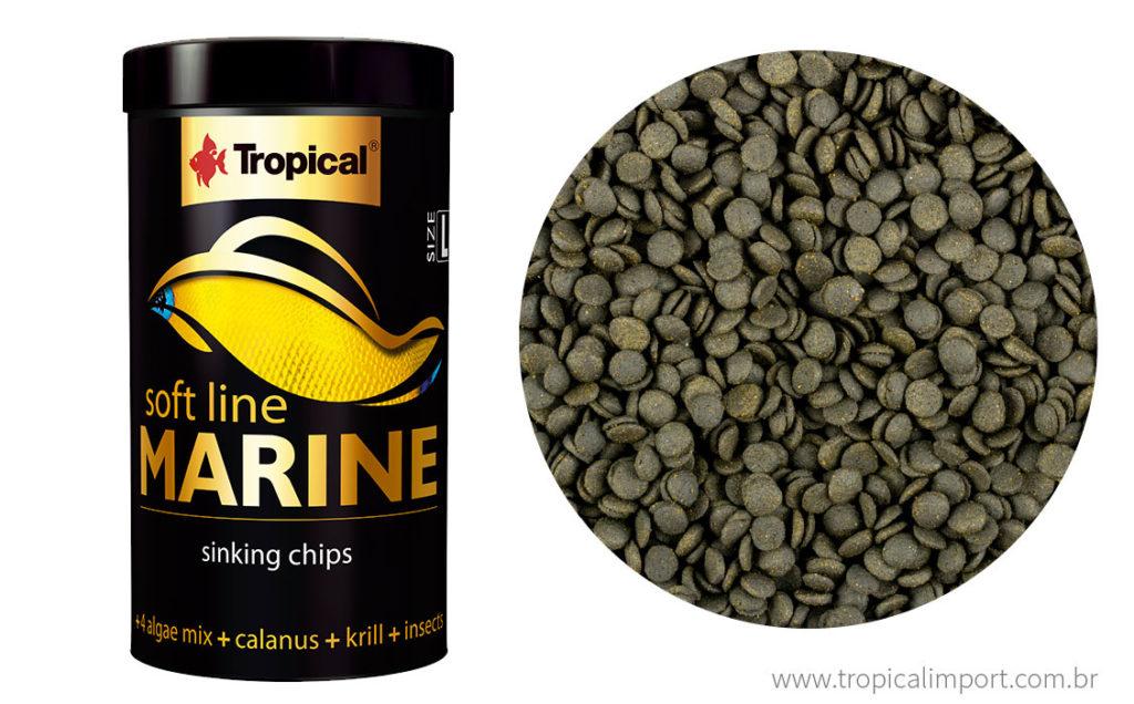 Tropical Soft Line Marine (L) 52g   - Aquário Estilos