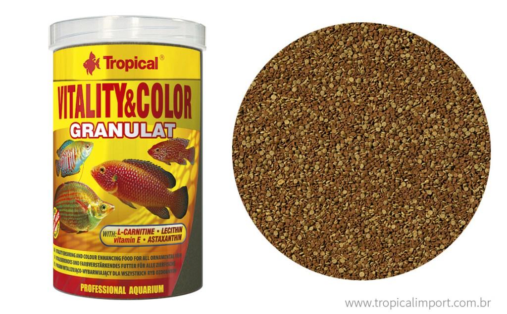 Tropical Vitality & Color Granulat 138g  - Aquário Estilos