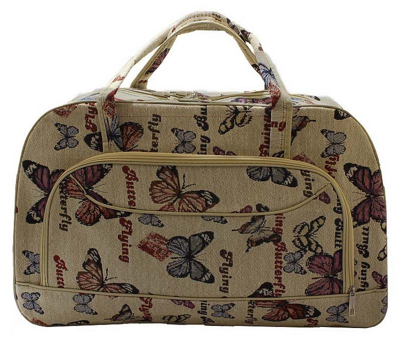 Bolsa De Viagem De Mão : Ditudotem mala bolsa de m?o viagem grande borboleta