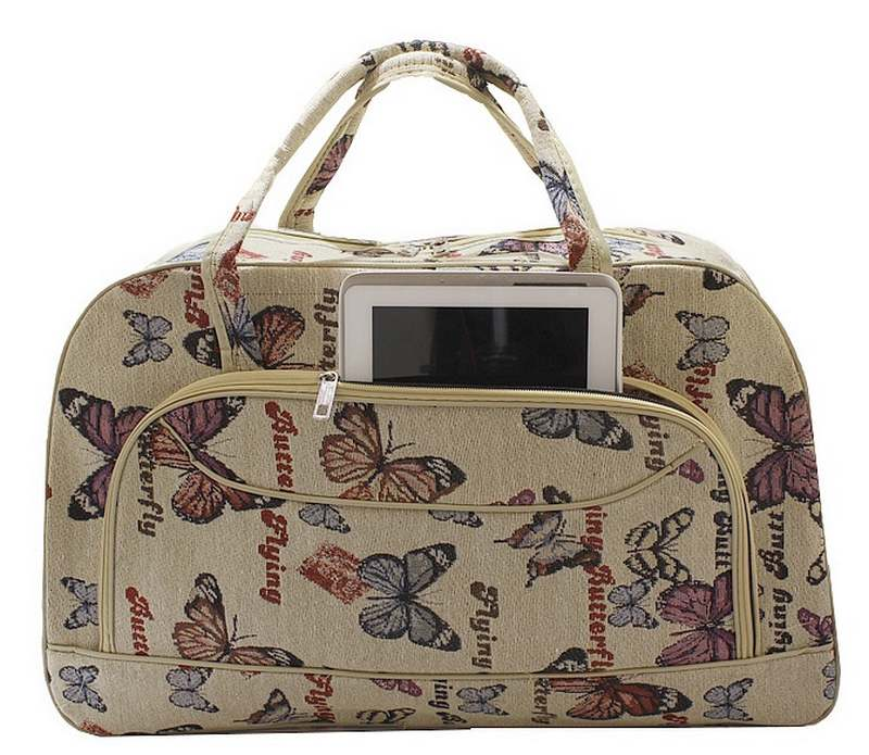 Bolsa De Mão Viagem : Ditudotem mala bolsa de m?o viagem grande borboleta