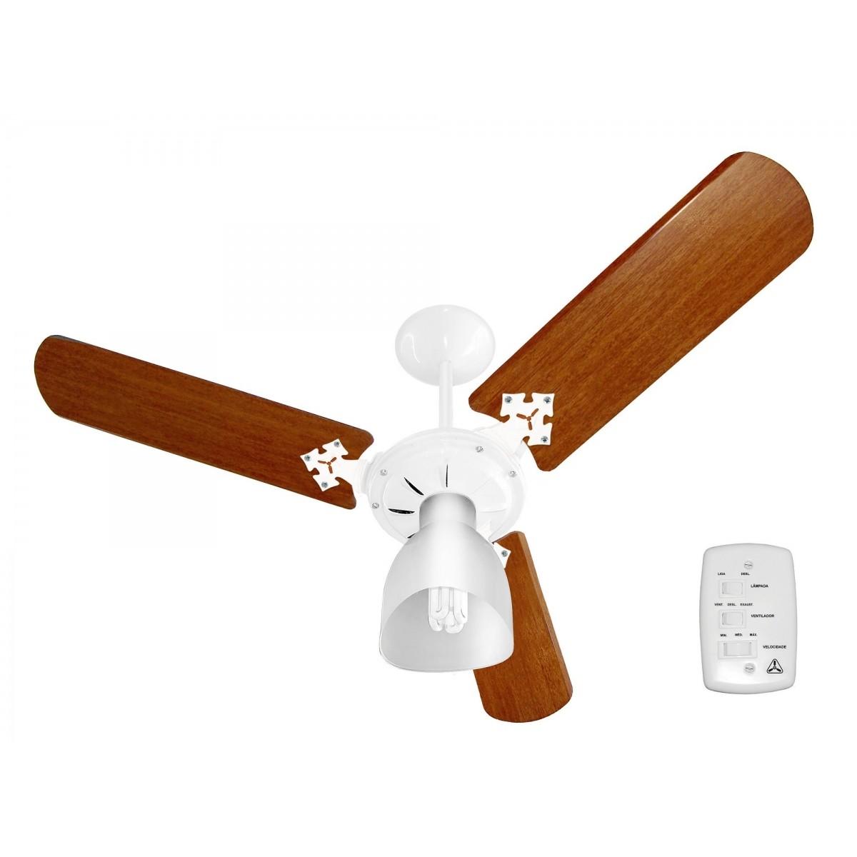 Ventilador de Teto VENTIDELTA | NEW DELTA LIGHT Branco