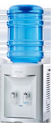 Bebedouro de Garrafão Compact Branco IBBL