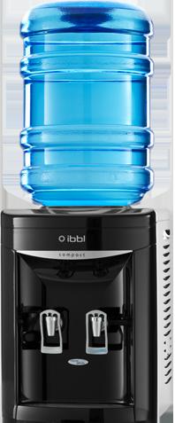 Bebedouro de Água para Garrafão Compact Preto IBBL