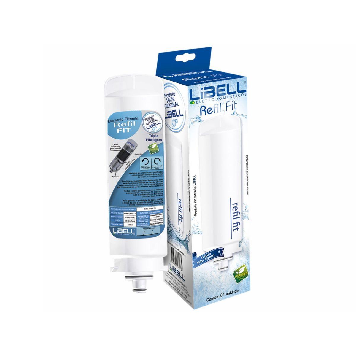 Refil Filtro para Purificador de Água Libell Fit Original