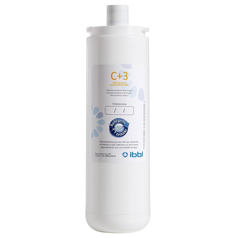 Refil Filtro Purificador de Água IBBL C+3 (FR600/Atlantis/BDF)