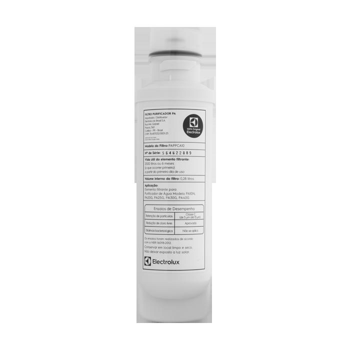 Refil Para Purificador de Água Electrolux PAPPCA10