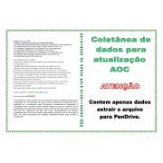 COLETÂNEA DE DADOS PARA ATUALIZAÇÃO DE TELEVISORES DA MARCA AOC