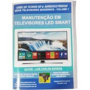 Livro MANUTENÇÃO EM TELEVISORES LED SMART – REF04
