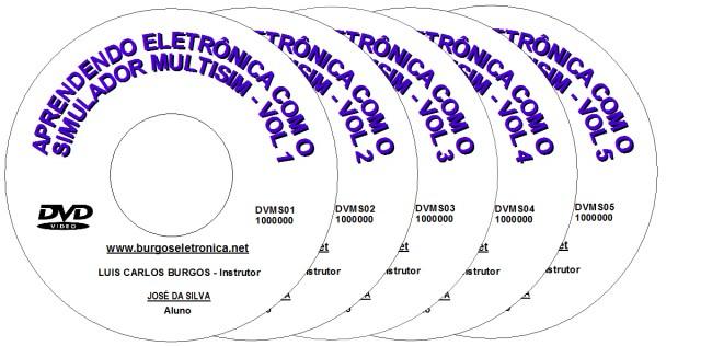 APRENDENDO ELETRÔNICA COM O SIMULADOR MULTISIM EM VÍDEO AULA - DVMS01 A 05