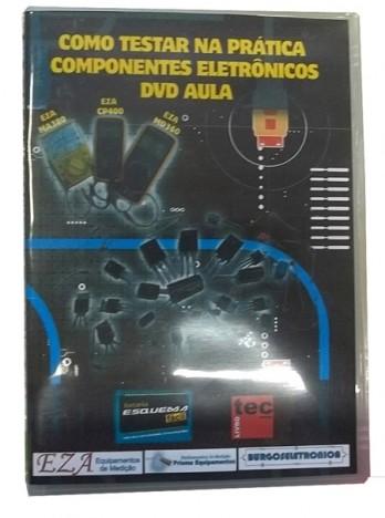 COMO TESTAR NA PRÁTICA COMPONENTES ELETRÔNICOS DVD AULA