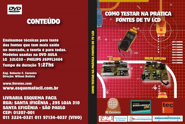 CURSO POR DOWNLOAD - COMO TESTAR NA PRÁTICA FONTES DE TV LCD