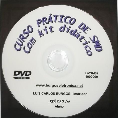 CURSO PRÁTICO DE SMD EM VÍDEO AULA – DVSM02