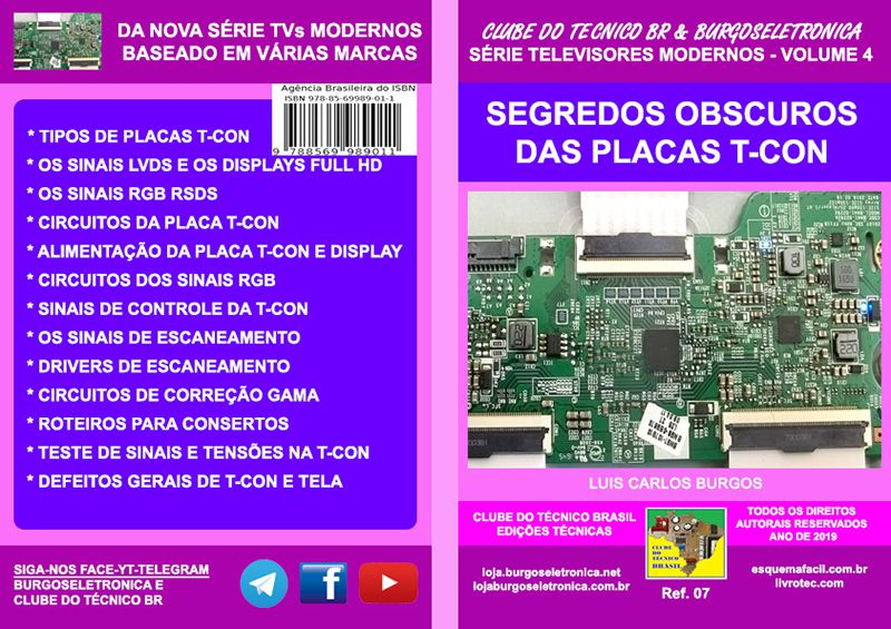 Livro SEGREDOS OBSCUROS DAS PLACAS TCON – Ref 07
