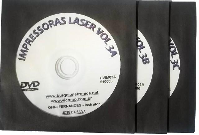 MANUTENÇÃO  DE IMPRESSORAS LASER - DVIM03A ao DVIM03C