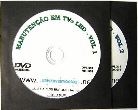 MANUTENÇÃO EM TELEVISORES LED - DVLD01 e 02