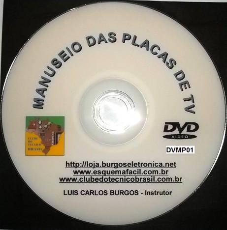 MONTAGEM, DESMONTAGEM E MANUSEIO DAS PLACAS DE TV EM VÍDEO AULA - DVMP01