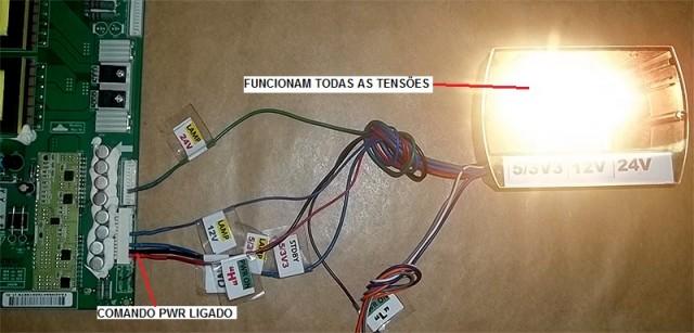 SUPER TESTADOR PARA FONTES DE TV LCD-LED-PLASMA