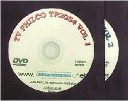 TV PHILCO TP2054 EM VÍDEO AULA - DVPH01 e 02