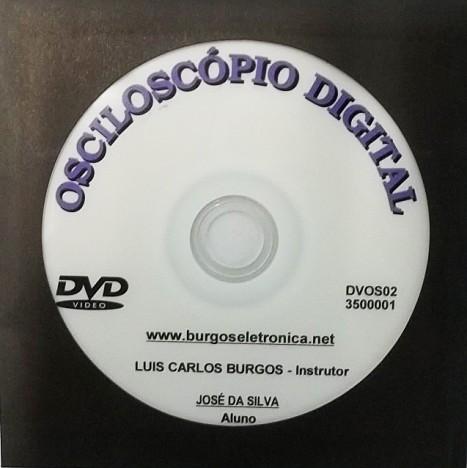 USO DO OSCILOSCÓPIO DIGITAL EM VÍDEO AULA - DVOS02