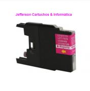 Cartucho de Tinta Brother LC-75 LC-79 Magenta | MFC-J6910DW MFC-J430W MFC-J6710DW | Compatível 18ml