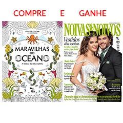 Compre Livro Maravilhas do Oceano e GANHE Revista Noivas&Noivos nº 80