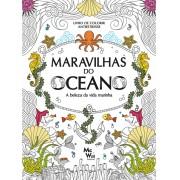Maravilhas do Oceano - A beleza da vida marinha (Livro para colorir)