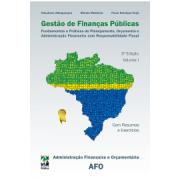 Gestão de Finanças Públicas, 3a.ed., Vol.1, 2013