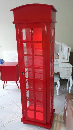 Cristaleira Cabine Telefônica Londres
