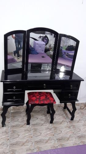 Penteadeira Espelho Triplo Luxo
