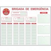 Quadro Brigada de Emergência - Sob Medida