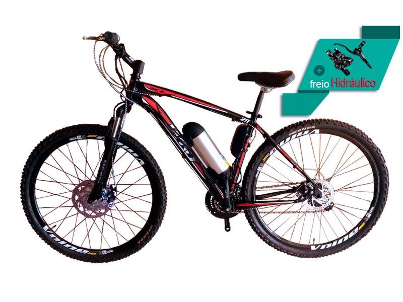 Bicicleta Elétrica Aro 29 AL. BAT. de LITIO Tec-Ultra.