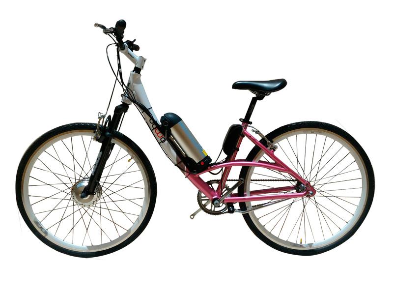 Bicicleta Tecbike Modelo Fashion Rosa