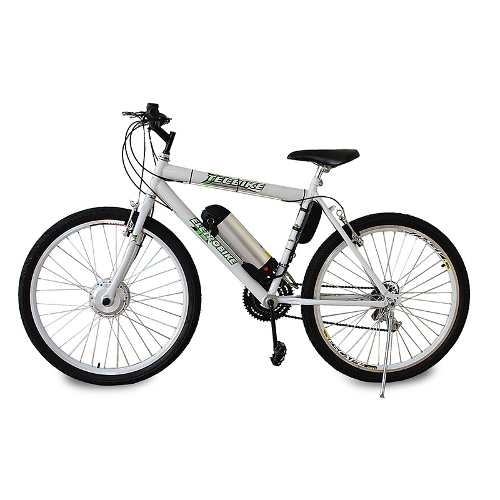 Bike Elétrica Aro 26 BAT. de LITIO Tec-City v2 - 500w