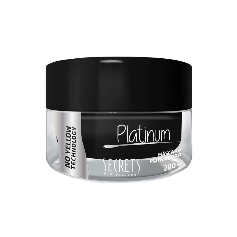 Máscara Matizadora Platinum 200g